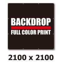 [BD]バックドロップ(通常版)2100mm x 2100mm