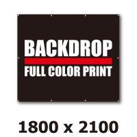 [BD]バックドロップ(通常版)1800mm x 2100mm