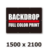 [BD]バックドロップ(通常版)1500mm x 2100mm