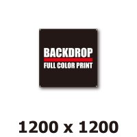 [BD]バックドロップ(通常版)1200mm x 1200mm