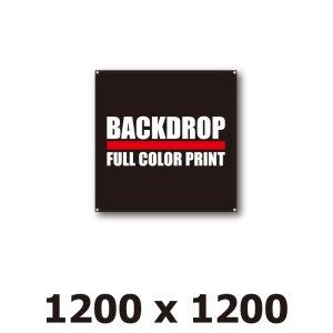 画像1: [BD]バックドロップ(通常版)1200mm x 1200mm
