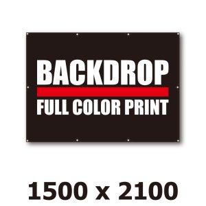 画像1: [BD]バックドロップ(通常版)1500mm x 2100mm