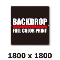 [BD]バックドロップ(通常版)1800mm x 1800mm