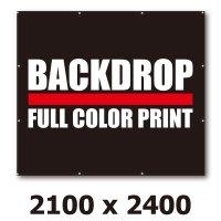 [BD]バックドロップ(通常版)2100mm x 2400mm