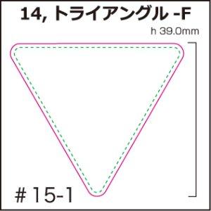 画像1: [PI]ビニールナイロン・トライアングル-F